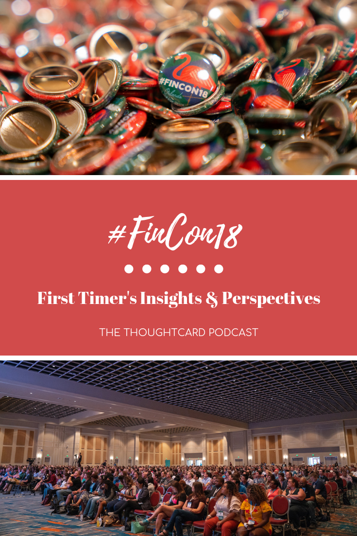 FinCon18 Recap: Wondering what it\'s like attending FinCon for the first time? Yasmine Bisumer and I share our goals for the conference, tips for attending FinCon as a first timer and what we learned at the conference that has transformed our businesses so far.