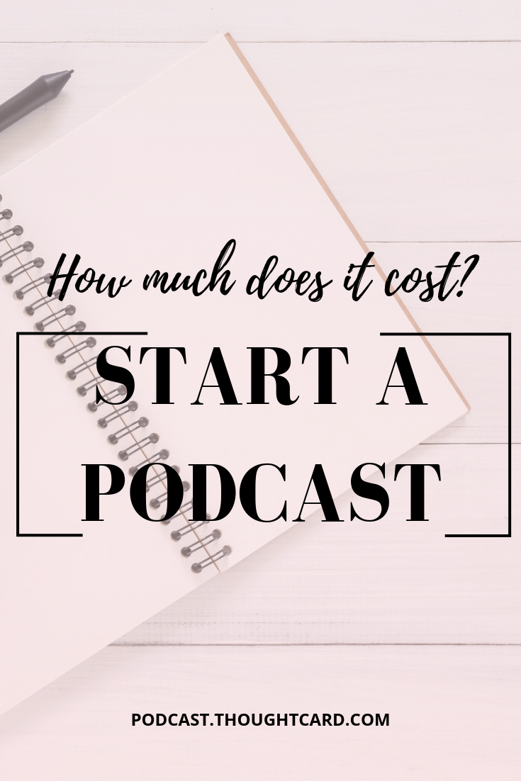 Want to start a podcast? Wondering how much podcasting will cost? Shereen Kassam, host of Creative Breakthrough Podcast shares how much it actually costs to start a podcast. #podcasts #podcasting
