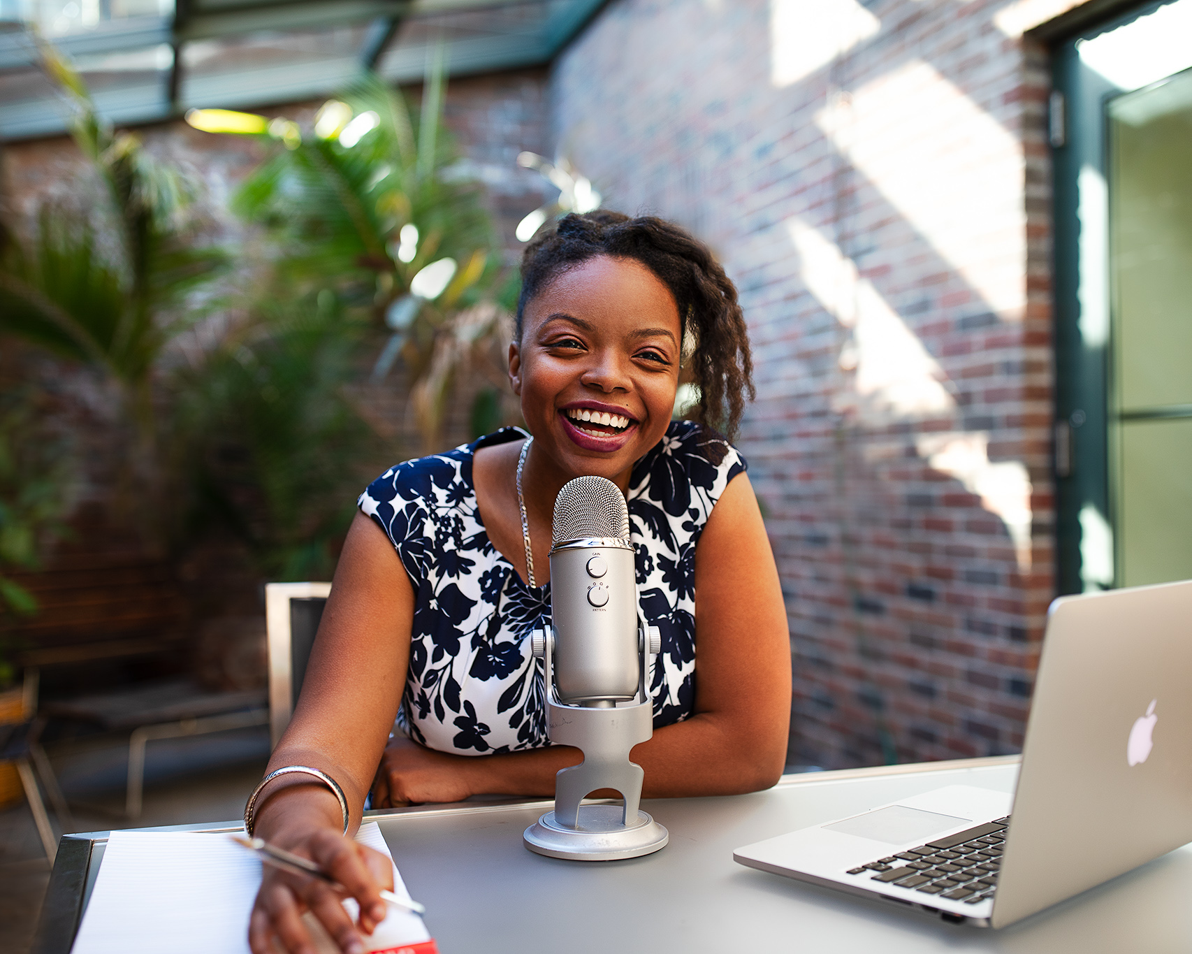 Danielle Desir Host of The Thought Card Podcast