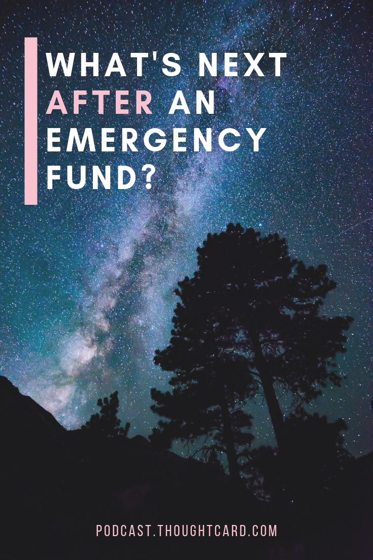 Have you reached your emergency fund savings goal? What's next? In this mini episode learn simple ways you can continue to build a buffer around your emergency fund. #savingsplan #personalfinance