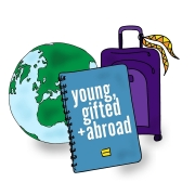 Studying Abroad with Danielle Grace host of Young, Gifted and Abroad