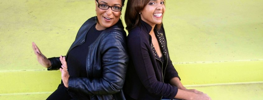 What is the racial wealth gap in America with Erika and Delina co-hosts of Broke-ish Podcast.