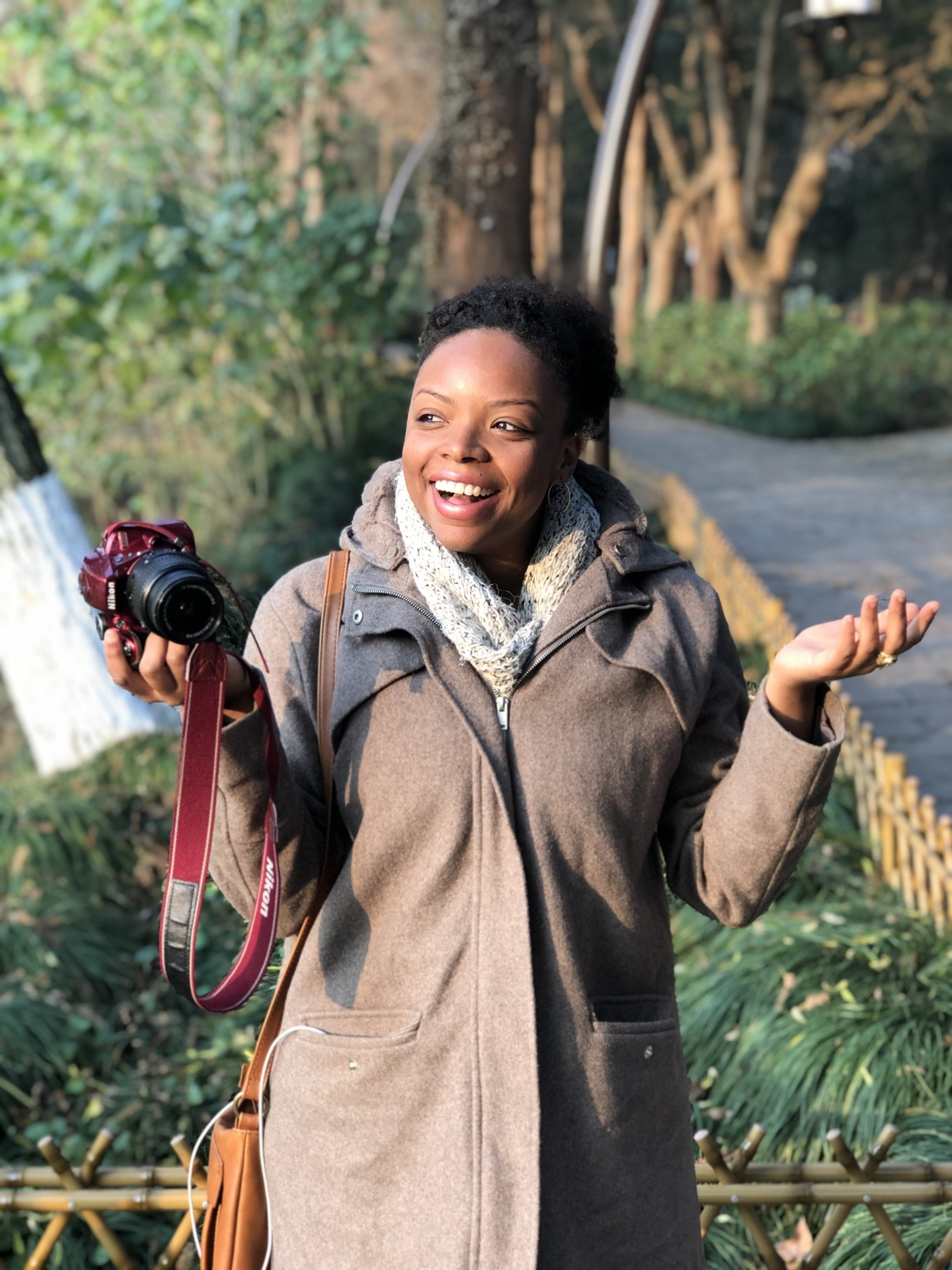 Danielle Desir is a travel podcast host of The Thought Card.