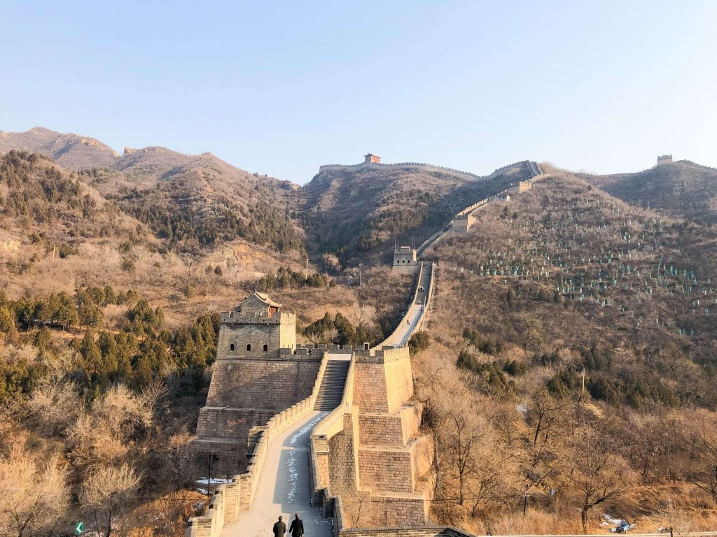 Day trip to The Great Wall of China.
